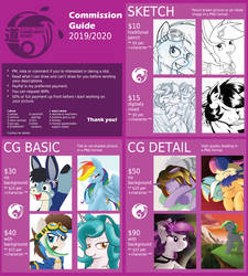 Cordy's Commission Prices 2019/2020