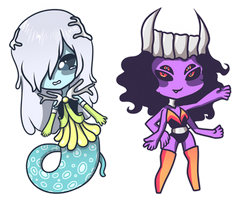 [CLOSED] Alien Adoptables by IcedMelon