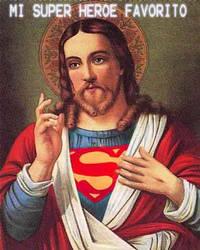 Super Jesus by draconion