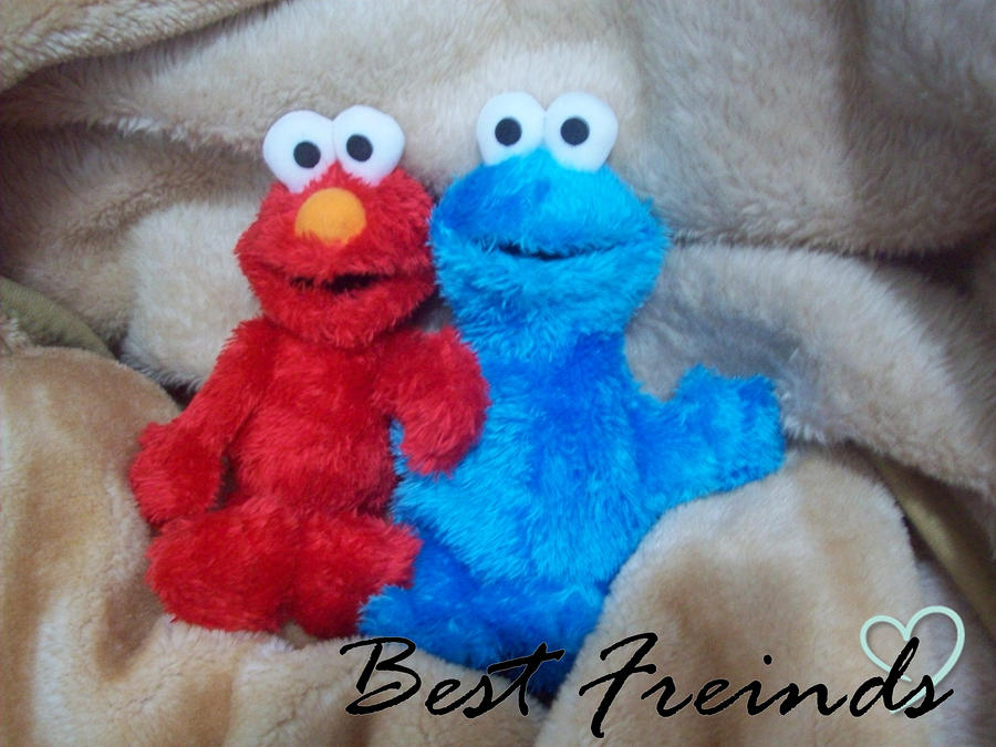 Elmo and Cookie Monster by bigheartedgirl on DeviantArt