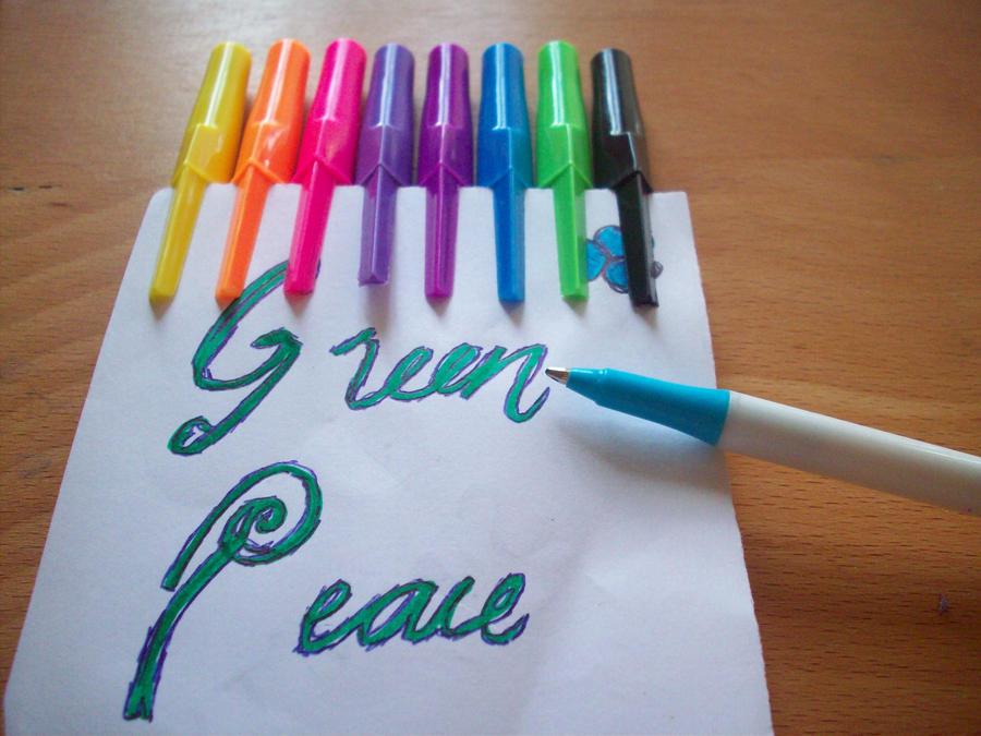 Green Hope by bigheartedgirl