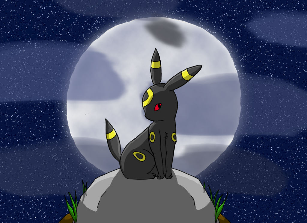 Noctali pokemon by liilymaou on deviantart - Pokemon noctali ...