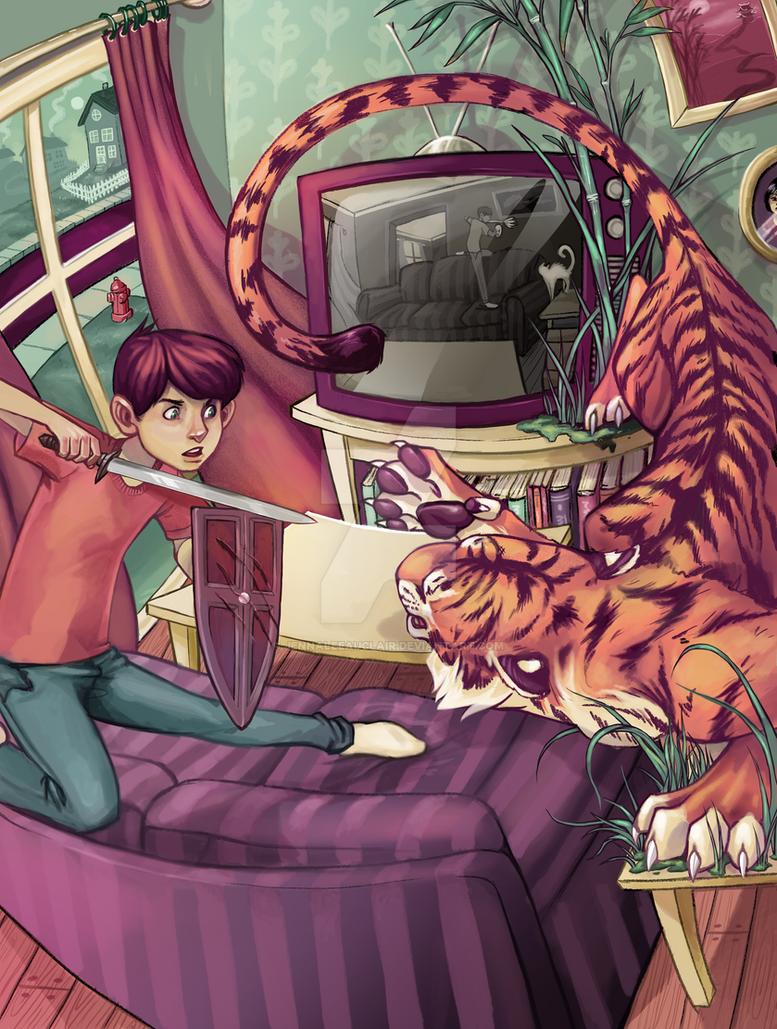 A Fierce Imagination by JennaleeAuclair