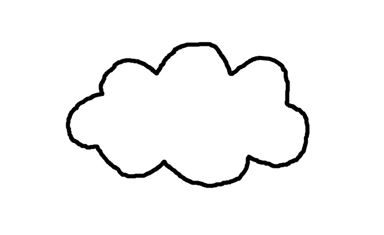 Cloud template by CraftsByAle on deviantART