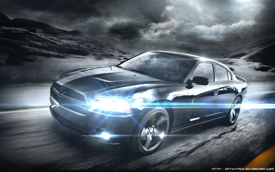 Dodge Charger 2012 wallpaper by Opty-Face on DeviantArt