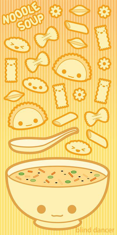 Noodle Soup by blind-dancer