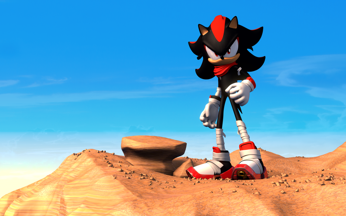 Shadow boom unofficial render by k4ve on deviantart - Shadow sonic boom ...