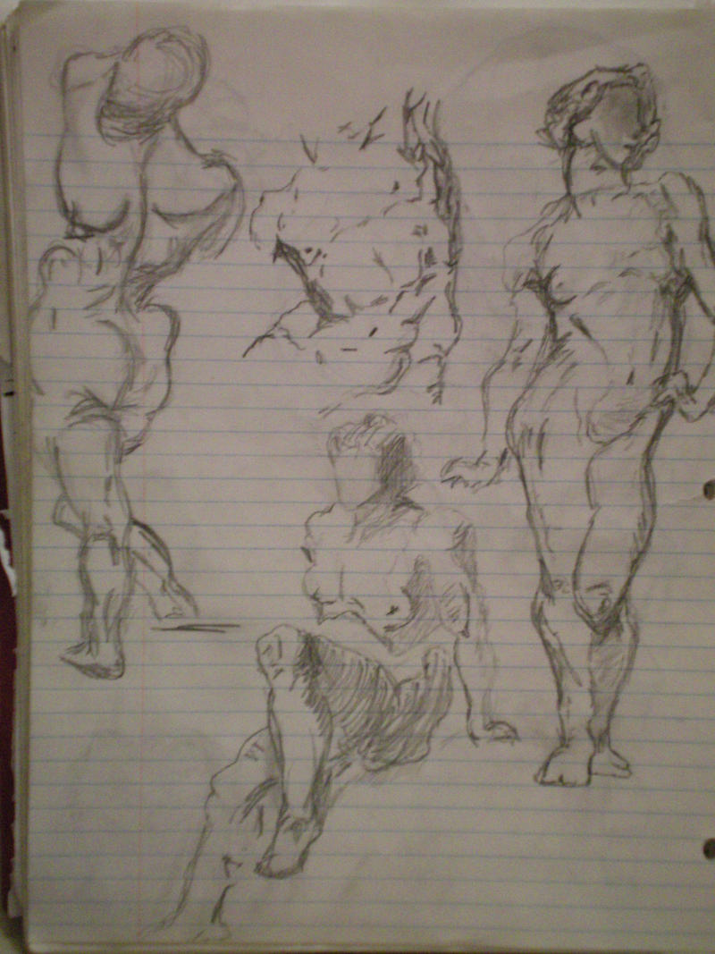 Body movement study by art83 on deviantart for Body movement drawing