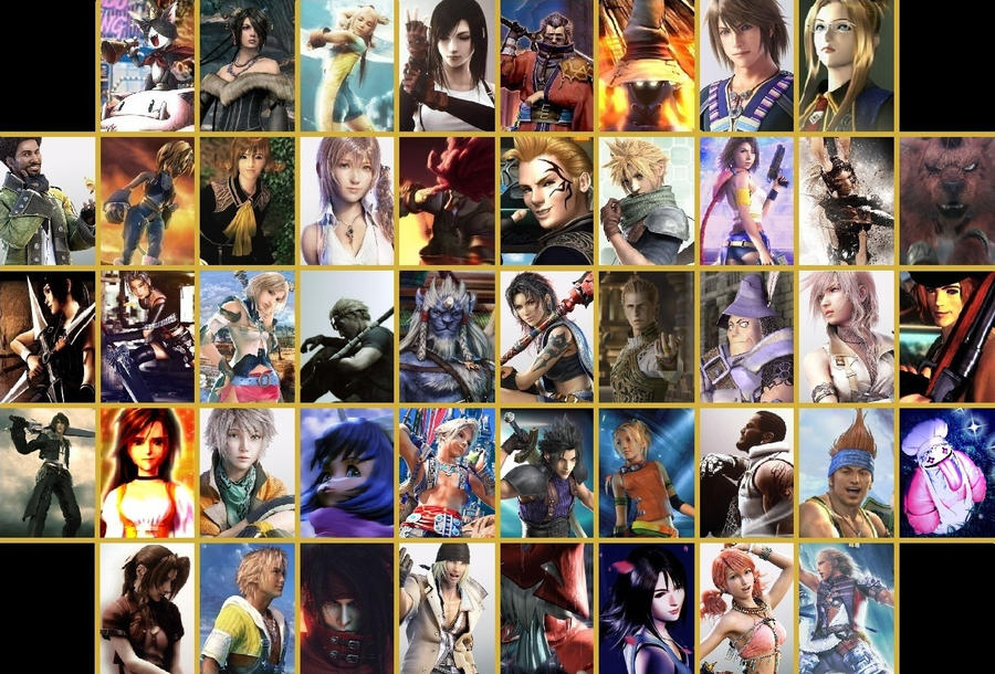 Final Fantasy by Valvino