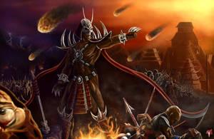 MK Legacy Emperor Shao Kahn by Esau13