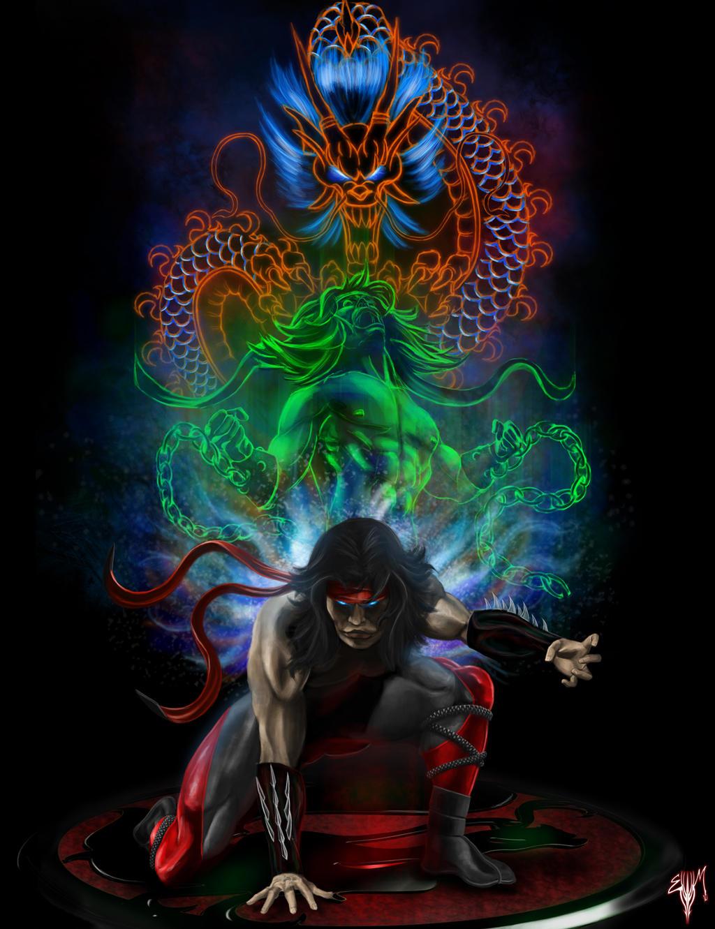 MK Legacy Liu Kang By Esau13