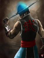 MK Legacy Kung Lao II by Esau13