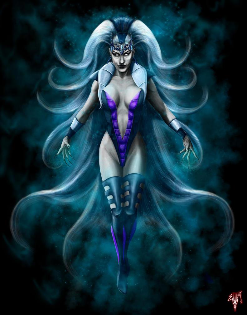 MK Legacy Queen Sindel by Esau13