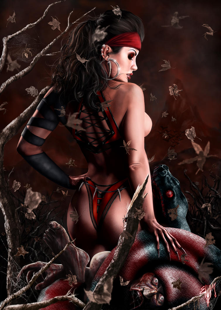 Adult demon fantasy art erotic girlfriends