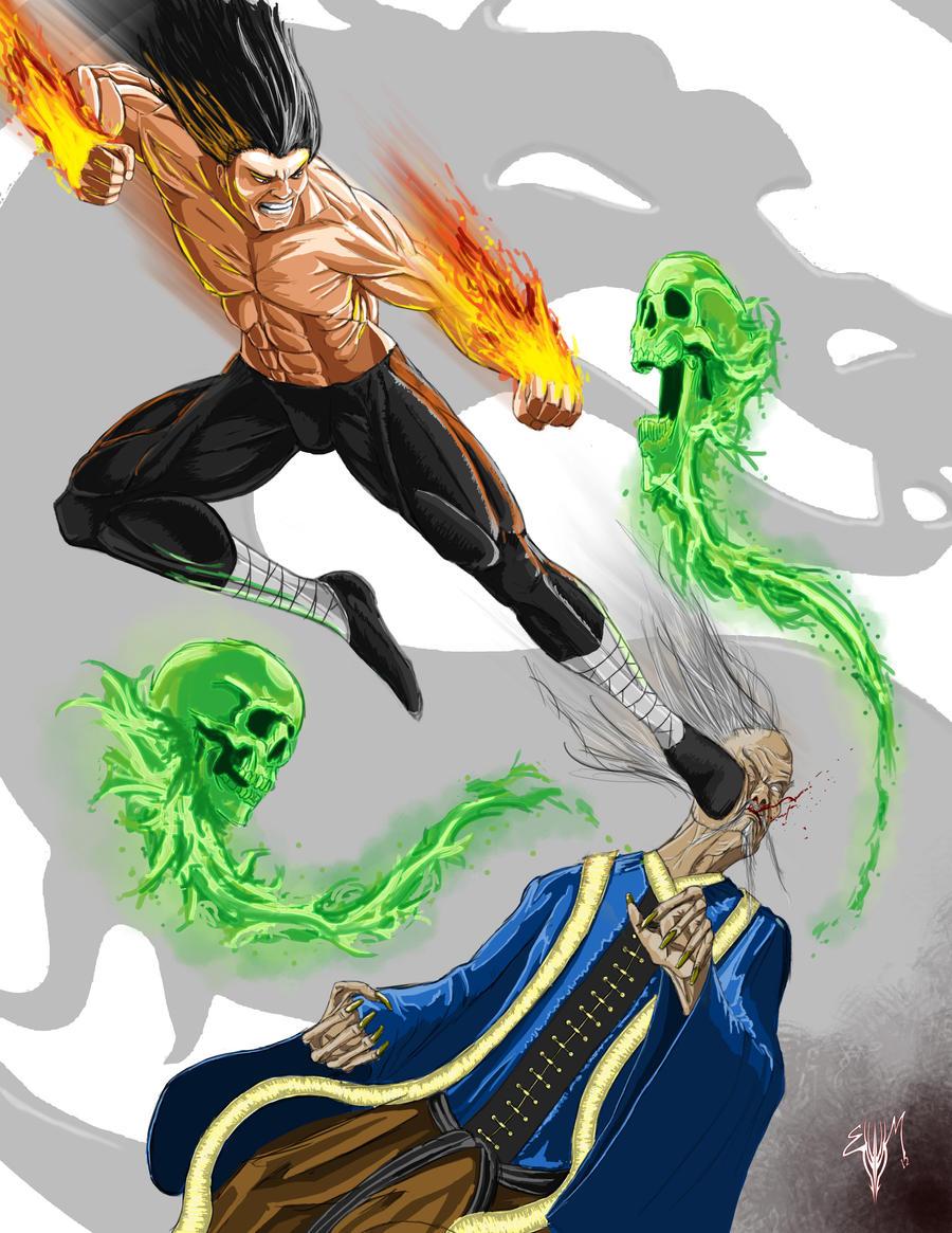 Legends of The Tournament: Liu vs Shang by Esau13