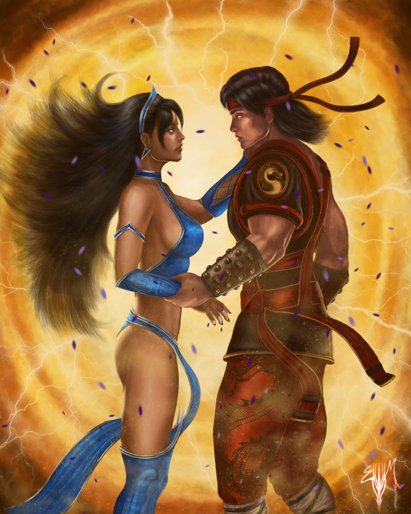 liu kang and kitana relationship test