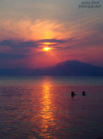 Greek Sunset 4 by annafilip