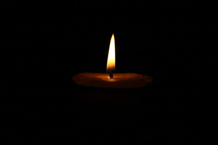 candle in the dark - photo #14
