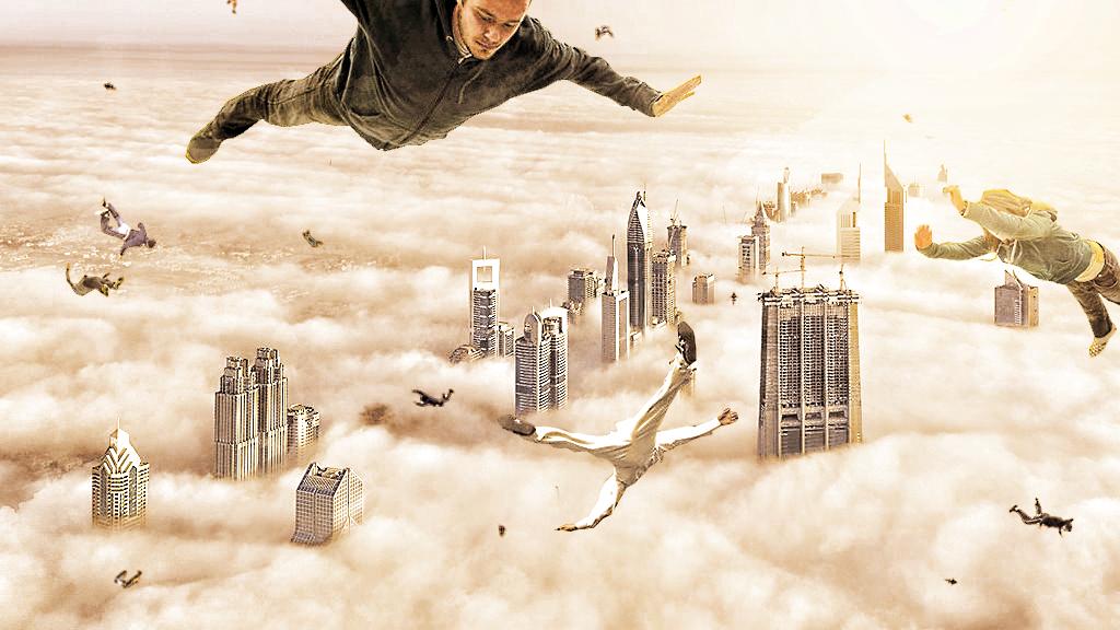 SkyDiving by KarimFakhoury