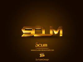 Scum Logo by KarimFakhoury