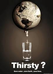 Save Water by KarimFakhoury