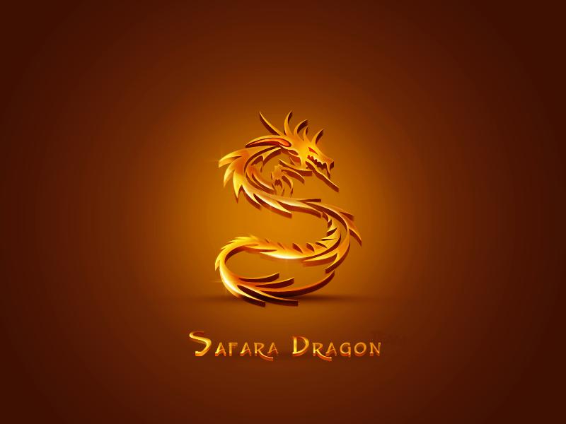 Safara Dragon Logo by KarimFakhoury