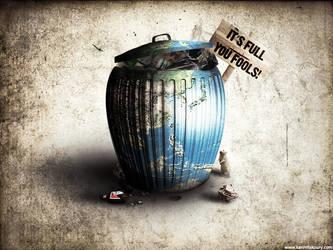 Full of trash by KarimFakhoury