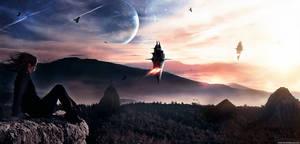 Gliese 581 g by KarimFakhoury