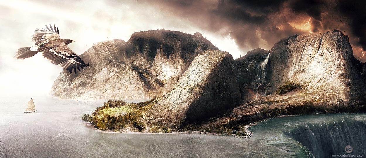 The Island by KarimFakhoury