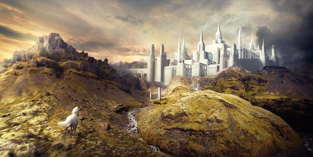 Elysian Citadel by KarimFakhoury