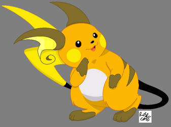 Raichu by watergod159