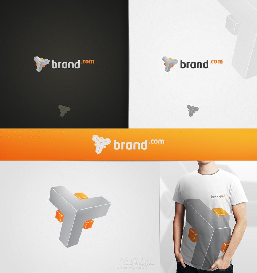Logo - Brand.com by Tngabor