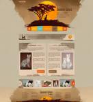 Web design - Savannah Sahara