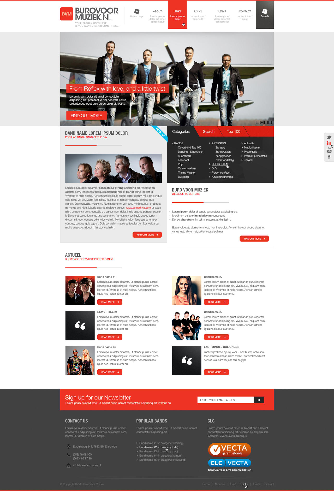 Web design - BVM by Tngabor