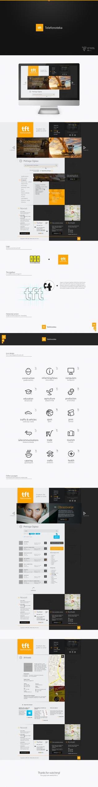 Logo and Web Design - TFT by Tngabor