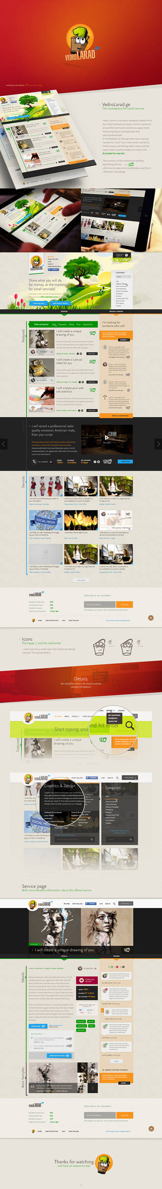 Branding and Web Design - Vedro Larad