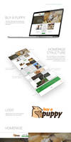 Web design - Buy a Puppy