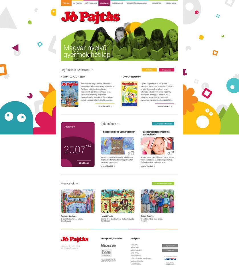 Web Design - Jo Pajtas by Tngabor