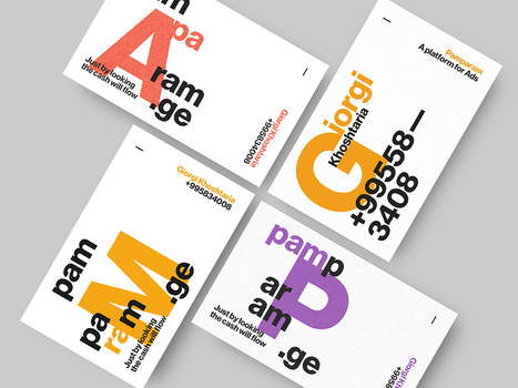 Pamparam, Business Cards
