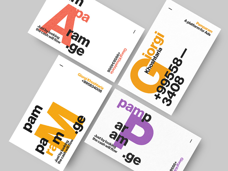 Pamparam, Business Cards by Tngabor