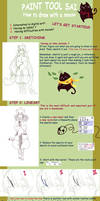 Paint tool SAI tutorial for mouseusers P1