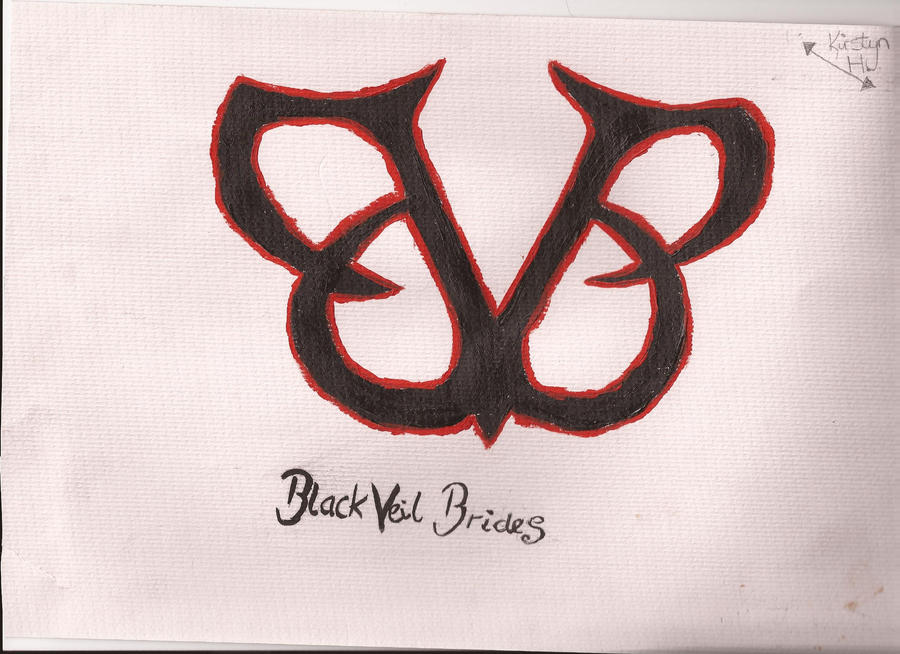 Black Veil Brides Band Logo By FrailGlassGirl