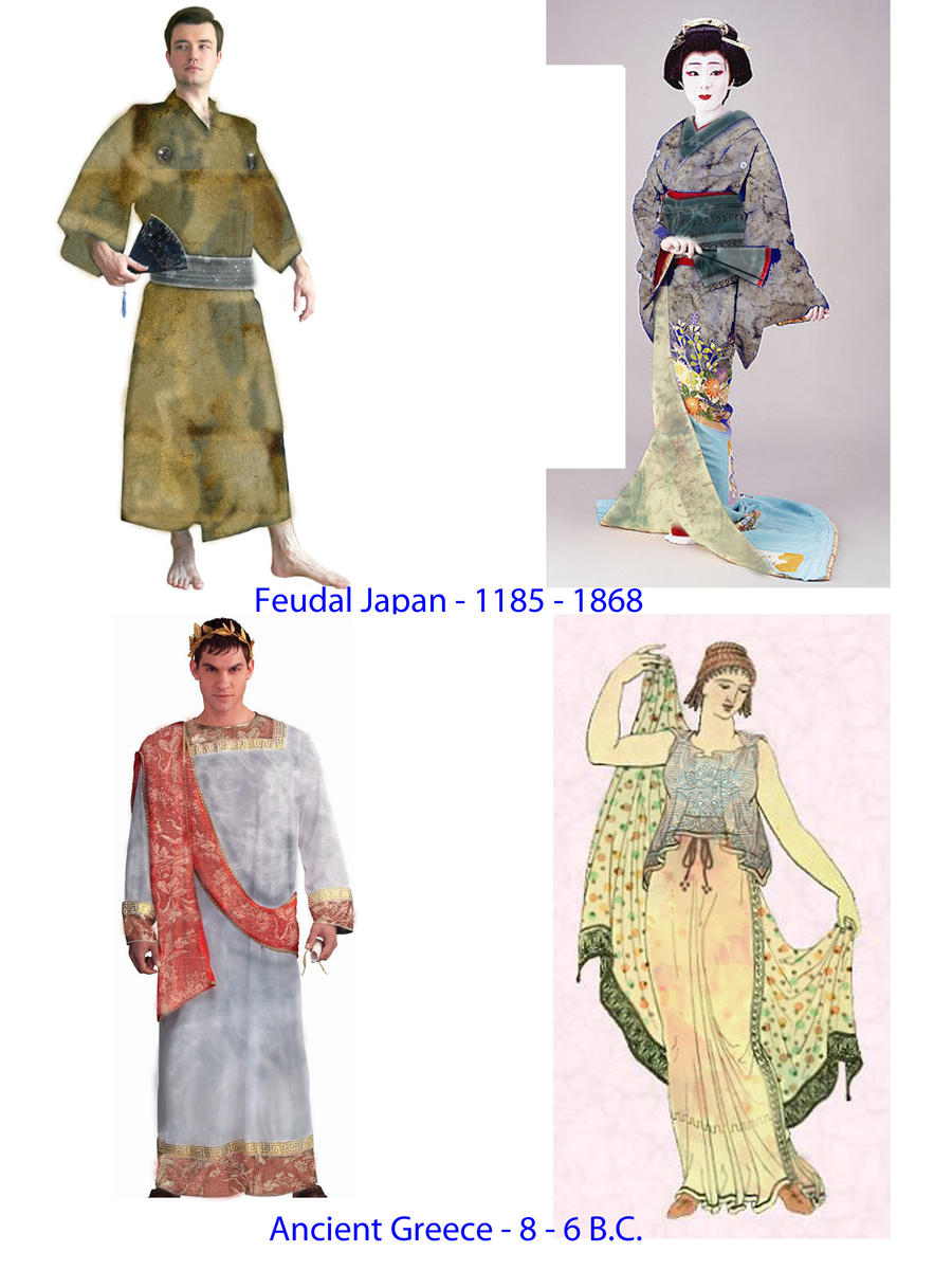 Period Costume Designs - Clone Tool by DieHardGuardGirl