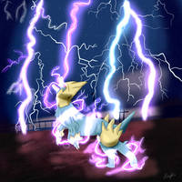 #5 Manectric by Flowfell