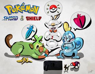 #8 Pokemon Sword and Shield by Flowfell