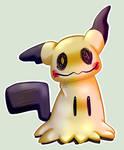 Pokemon sticker 18: Mimikyu