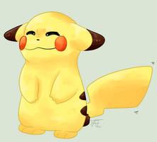 Pikachu by Flowfell