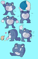 Poliwrath by Flowfell