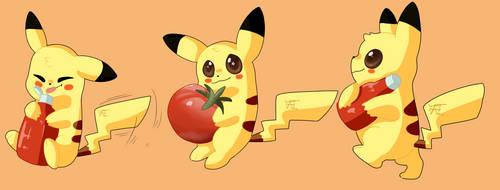 Tomato Pikachu
