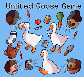 Untitled Goose Game by Flowfell
